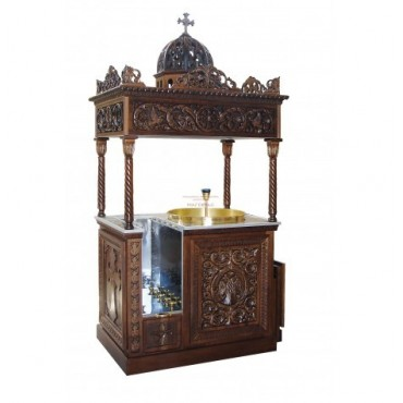 Baroque candlestick absorber 60 degree