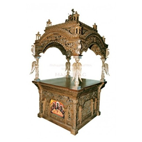 Holy Table Baroque perforated with cubo